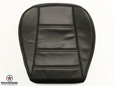 2000 Ford Mustang V6 -Driver Side Bottom Replacement Leather Seat Cover Black