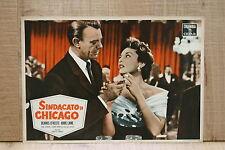 SINDACATO DI CHICAGO fotobusta poster affiche O'Keefe Abbe Lane Cigarette Zippo
