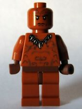 LEGO - INDIANA JONES - Ugha Warrior without Hair  - MINI FIG / MINI FIGURE