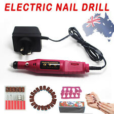 6 Bits Nail Art Electric Pen Buffer Drill Shaper Machine File Manicure Tool Set