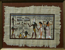 Papyrus Jenseitsgericht und Horus - Ägypten / Egypt afterlife judgment and Horus