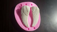 3D angel wing silicone mold, resin, chocolate, candy, fondant, gumpaste