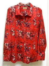 Legacy Falls for Her, XXL 16, Western Red LS SNAP Front SHIRT TOP BLOUSE
