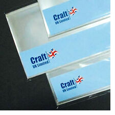 "Craft UK 4 "" x 4 "" Cello Bags with Self Seal Strip Approx.50"