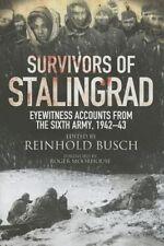Survivors of Stalingrad, Reinhold Busch