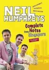 Complete Notes from Singapore, Neil Humphreys, Good, Paperback