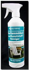 0,5L Hotrega Gartenmöbel Kunststoff Reiniger Garten Möbel
