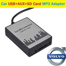 USB SD AUX Audio Adapter Car CD Stereo Changer for Volvo HU C70 S40 S60 V40