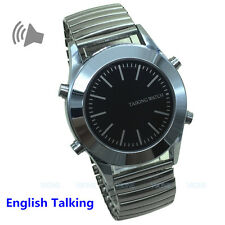 English Talking Watch for Blind or Visually Impaired or the Elderly Low Vision
