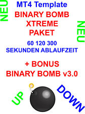 Binäre Optionen Binary Options - BINARY BOMB XTREME 4-1 Template 60,120,300 Sek.
