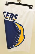 Quiksilver Men's NFL SAN DIEGO CHARGERS White BOARD SHORTS Size 32 $65 C23D