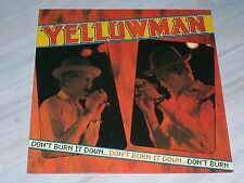 "Yellowman-Don 't Burn it down/reggae 12 ""LP, Bellaphon rec., N. 260 07 117"