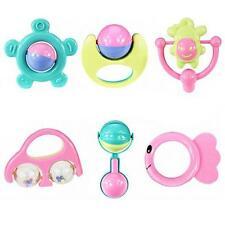 6 Stück Set Handbells Entwicklungs Spielzeug Bells Kinder Baby Rassel