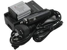 3x NP-50 Battery + Charger for Fujifilm FinePix F500EXR F505EXR F550EXR F600EXR