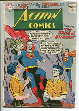 Action Comics #255 - 1st Bizzaro Lois Lane/4th Supergirl! - 1959 (Grade 2.5)
