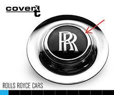 Rolls Royce amanecer Aleación Rueda Centro Tapa Reemplazo Cromo Anillo de ajuste-Fácil Ajuste