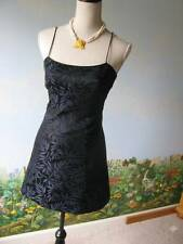 be be Moda Black / Blue Floral Cocktail Dress SZ 2