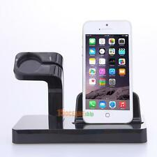 NEW For Apple Watch iWatch Charging Dock Stand Bracket Accessories iPhone Holder