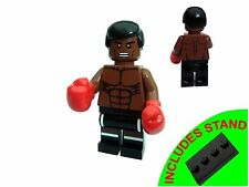 MUHAMMAD ALI WITH GLOVES BOXING LEGEND BOXER MINIFIGURE FIGURE & STAND