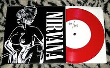 "Nirvana John Peel Sessions 7"" RED Hand #'d ONLY 100 Kurt Cobain Foo Fighters NEW"