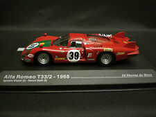 ALTAYA / IXO 1/43 ALFA ROMEO T33/2 1968 #39 24H LE MANS NEW WITH BOX