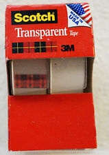 Scotch Transparent 3M Christmas Wrapping Tape 2 Rolls In Each Package