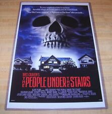 Wes Craven's The People Under the Stairs 11X17 Original Movie Poster
