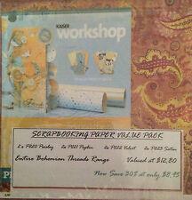"""Kaisercraft - 12""""x12"""" Scrapbook Paper - Bohemian Threads Bulk Pack"""