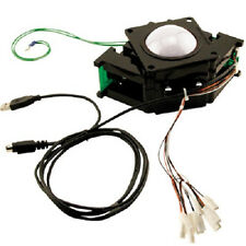 "HAPP 3"" USB or PS2 TRACKBALL ARCADE  MULTICADE Golden Tee MAME PICK YOUR COLOR!"