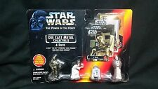 Star Wars 1995 Die Cast Metal Figurines  4 pack