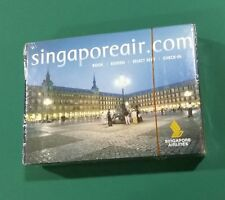 Singapore Airlines Spain Barcelona playing cards sealed deck !