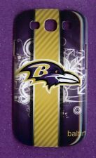 BALTIMORE RAVENS 1 Piece Glossy Case / Cover Samsung GALAXY S3 SIII (Design 4)