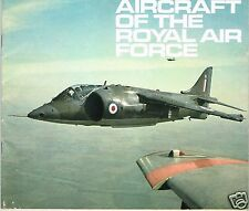 AIRCRAFT OF THE R.A.F.: 1970 RAF CAREERS INFORMATION BOOK-FACSIMILE EDITION