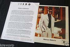 MARCUS ROBERTS 'BLUES FOR THE NEW MILLENIUM' 1997 PRESS KIT--PHOTO