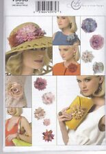 Vogue Sewing Pattern Flowers & Cluthc Purse one Size V9098