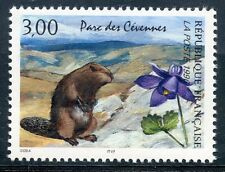 STAMP / TIMBRE FRANCE NEUF N° 2997 ** FAUNE / MARMOTTE ET ANCOLIE