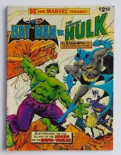 BATMAN vs THE INCREDIBLE HULK DC MARVEL Crossover Present GIANT TREASURY (1981)