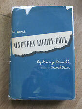 NINETEEN EIGHTY-FOUR by George Orwell - 1st/BC HCDJ 1949 $3.00 +  flyer 1984