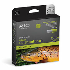 RIO INTOUCH IN TOUCH FRESHWATER OUTBOUND SHORT WF8I/S6 TYPE 6 SINK TIP FLY LINE