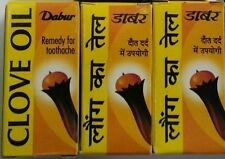 DABUR CLOVE OIL 2 ML TOOTHACHE ORAL PAIN RELIEF//REFRESH MOUTH//RELIEF FROM PAIN