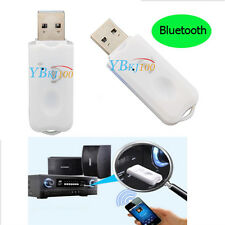 USB Bluetooth Music Streaming Stereo Home Car Wireless Audio Receiver Adapter