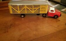 VINTAGE 1950s TIN LITHO CATTLE TRUCK FROM JAPAN WITH BOX