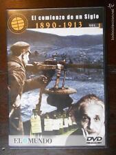 DVD EL COMIENZO DE UN SIGLO - VOLUMEN 1 - 1890-1913 - COMO NUEVA