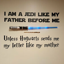 Wall Stickers Jedi like my Father Hogwarts sends me a vinyl decal decor Nursery