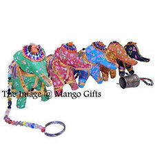 Indian Home Decor Antique Look Door Hanging Ornaments Vintage Elephant Toran 33""