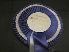Dog Show Rosettes Crufts Souvenirs Ribbons Best in Show