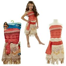 Disney Moana Girls store Outfit Costume 2 Piece Skirt Layer Dress Clothing 4-6X