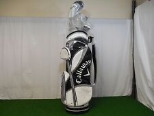 New Callaway Ladies Solaire gems black 8pc Complete golf club set womens 8 piece