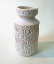 "70s Scheurich ""Amsterdam"" Keramik Vase onion pattern ceramic west german pottery"