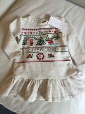 Baby Girls Ralph Lauren Winter Dress & Matching Knickers 12 Months BNWT